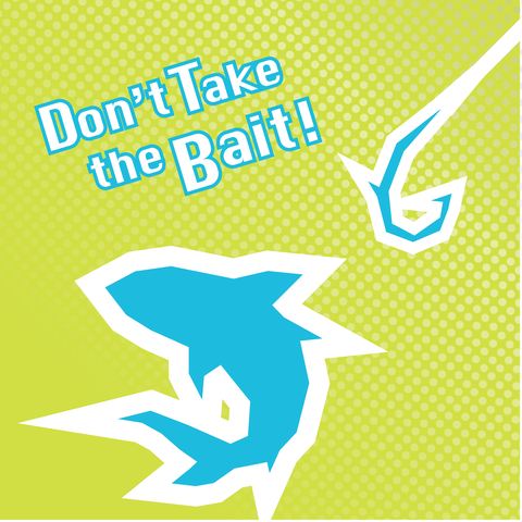 Don't Take The Bait promotion, an anti-vaping campaign