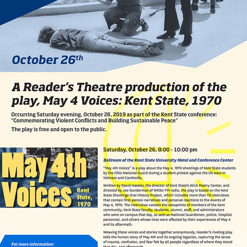 May 4th Voices play