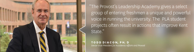 Provost Todd Diacon