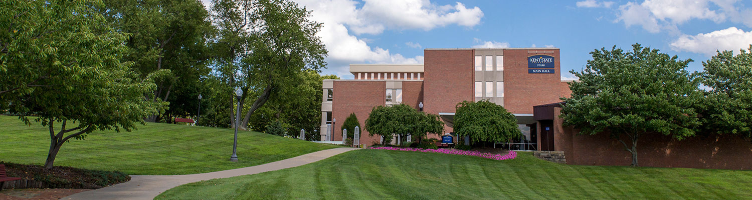 Nestled on 200 beautiful acres, Kent State University at Stark is located in Jackson Township, just five minutes from the Akron-Canton Airport and easily accessible from Interstate-77.