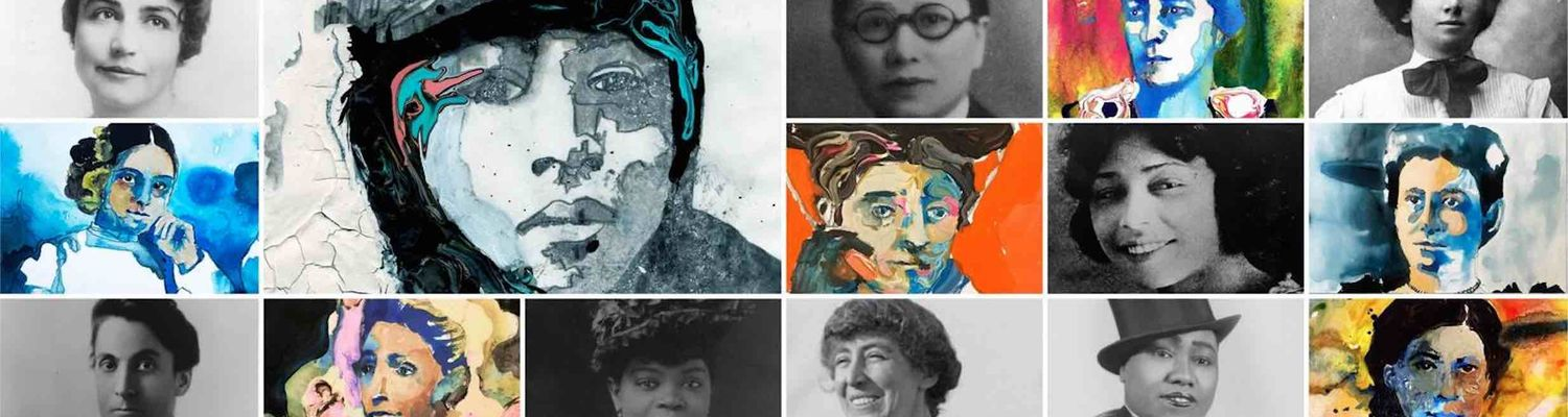 Women's History Collage Picture from PBS