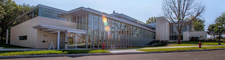 Exterior photo of Design Innovation building
