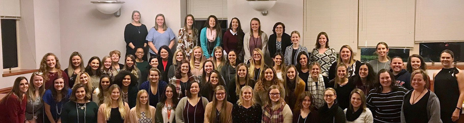 Early Childhood Education graduates, Fall 2018