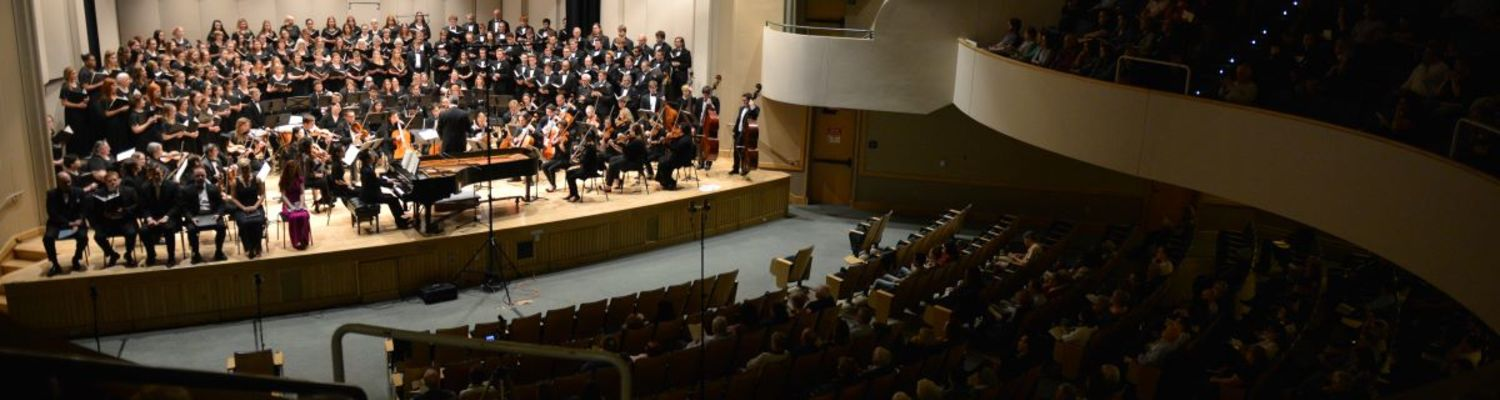 KSU Orchestra and Combined Choirs