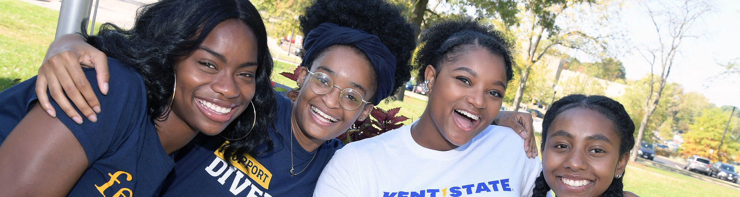 Kent State students celebrate homecoming at DEI's annual DiversiFEST celebration on October 14, 2017.
