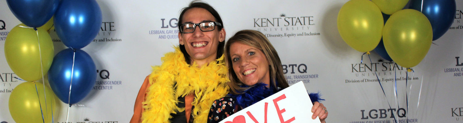 KSU student and parent at LavGrad 2018