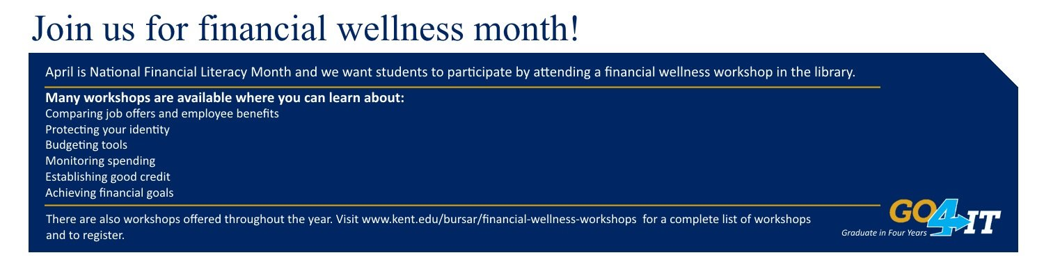 Join us for financial wellness month!