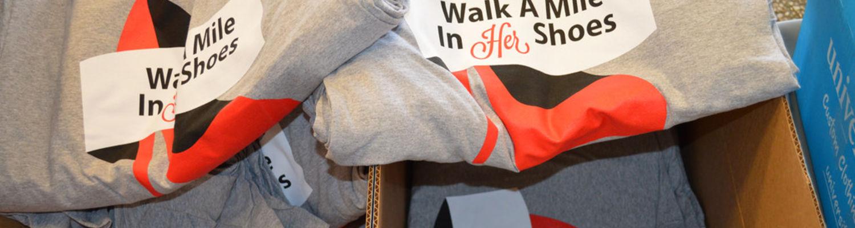 Walk a Mile Shirts