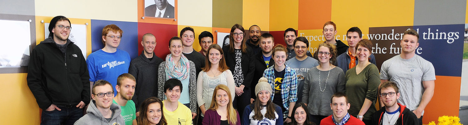 State of Ohio Representative Kathleen Clyde met with Kent State's Choose Ohio First Scholars in the Kent State Student Center, Multicultural Center.