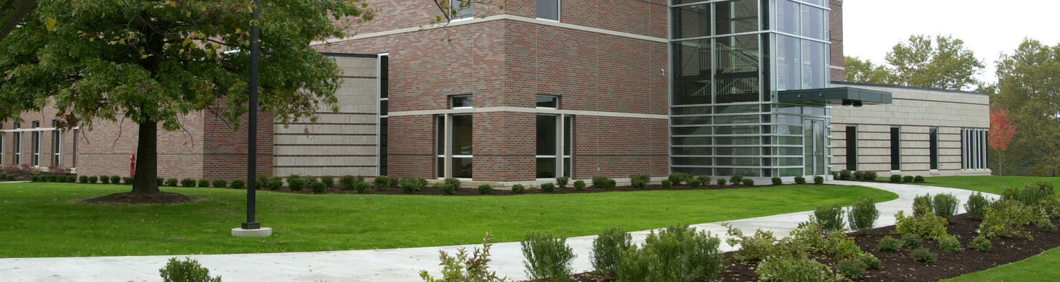The science building at the Tuscarawas Campus