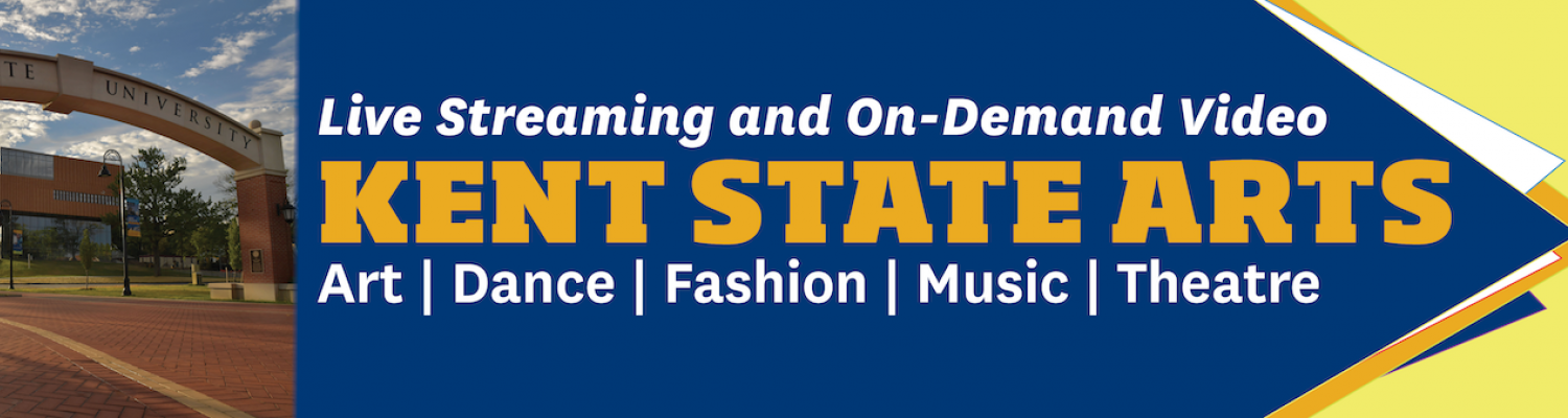Graphic reading: Live Streaming and On-Demand Video, Kent State Arts