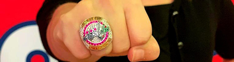 Cara Hudak's NHL championship ring