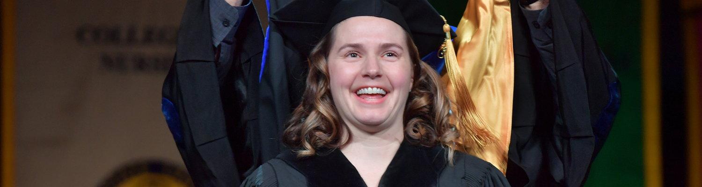 Ph.D. graduate