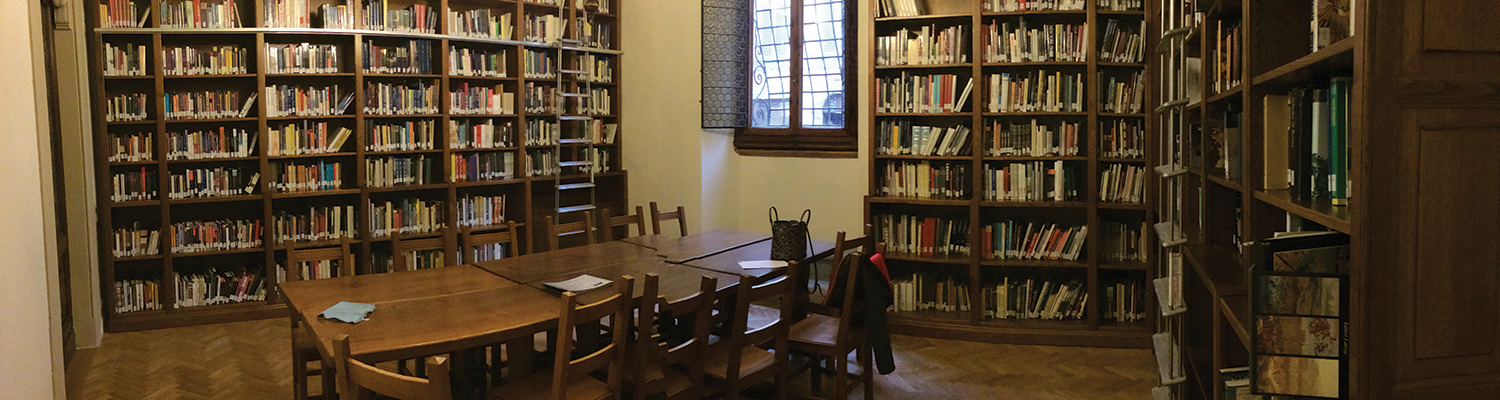 The Richard Role Reading Room in the Palazzo Vettori is a favorite retreat for Florence students