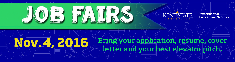 Nov. 4 Job Fair