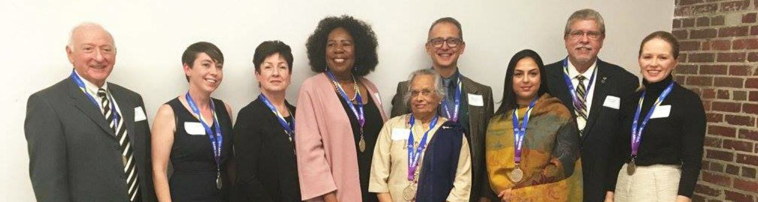 Distinguished 2017 Alumni and Faculty Award Winners
