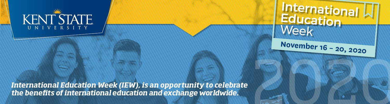 2020 International Education Week November 16th through 20th