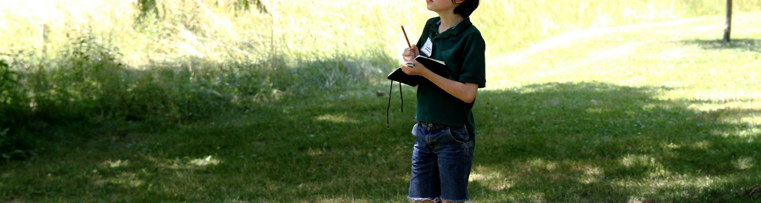 A Wick Junior learns about poetry on an inspiring field trip.