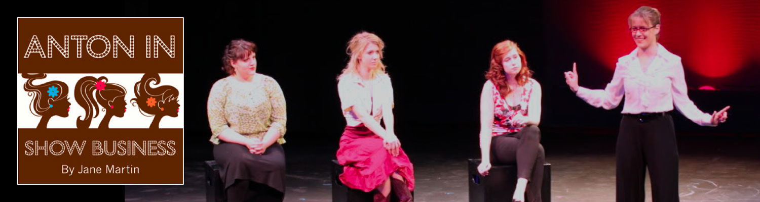 Anton in Show Business theatre production