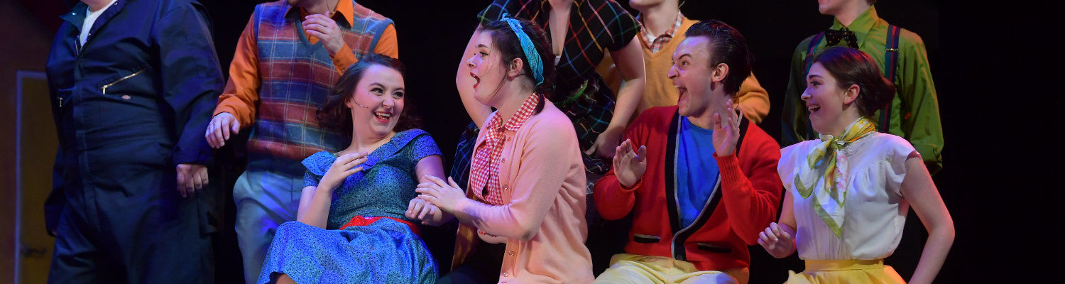 A scene from the musical All Shook Up