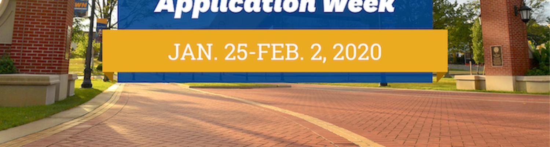 Free Graduate Application Week from Jan. 25 to Feb. 2