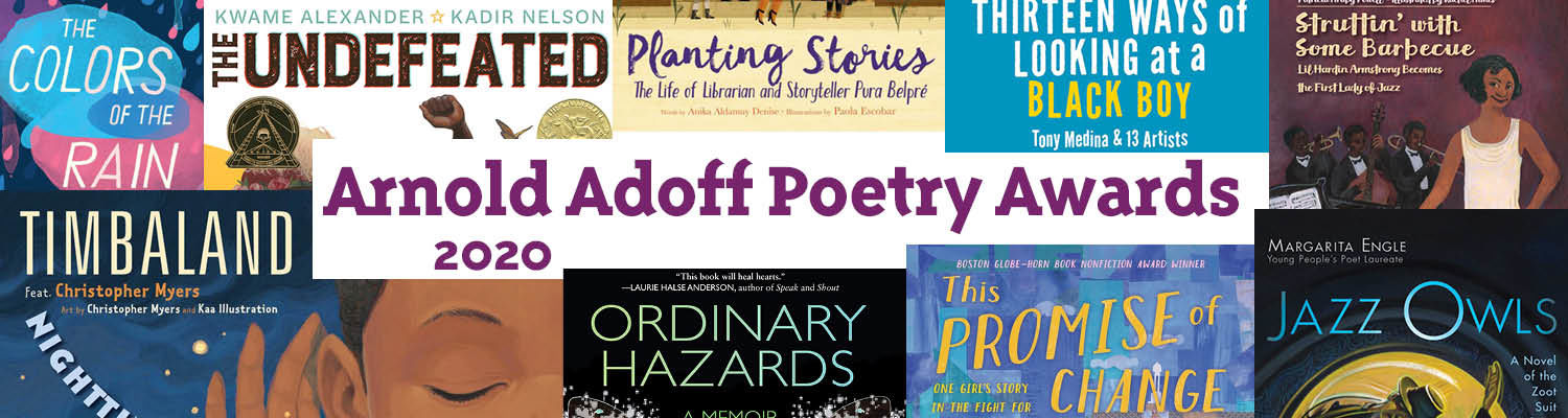 Arnold Adoff Poetry Awards 2020