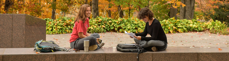 Students Studying at May 4