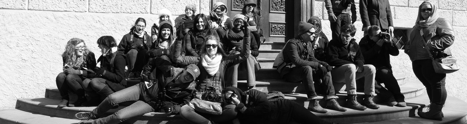 Students participating in Design Abroad Berlin-Prague