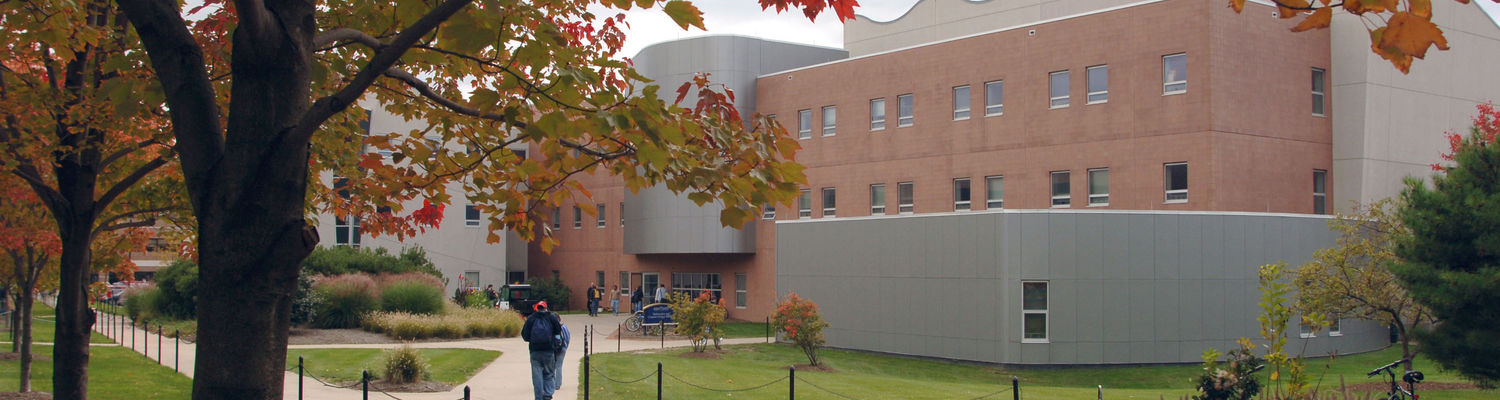 Mathematics and Computer Science Building, Fall