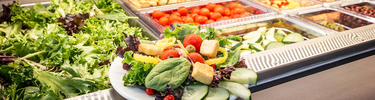 Conference Center Dining Room salad