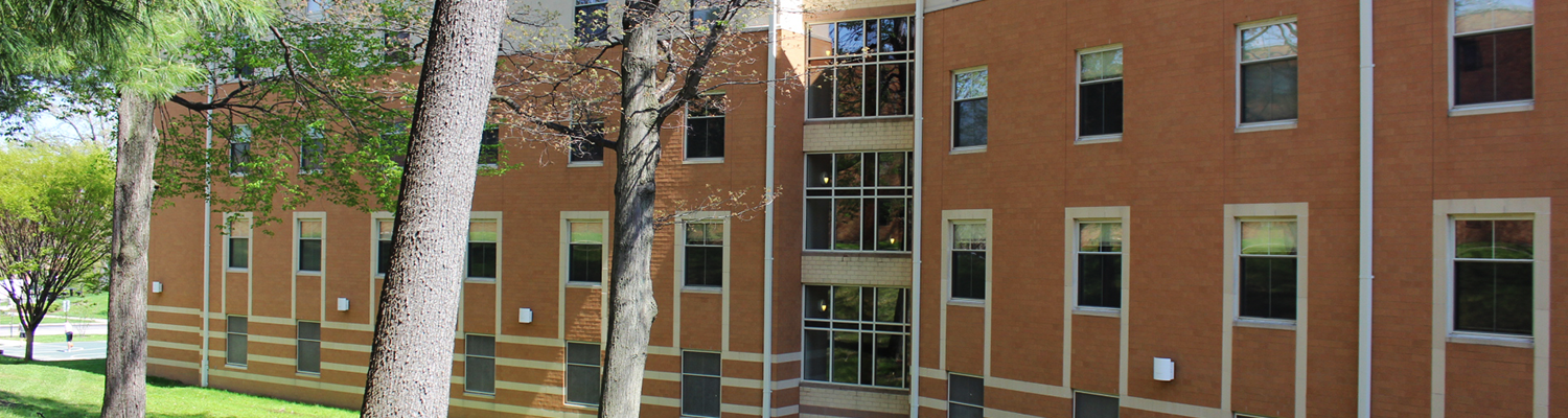 Outdoor view of Centennial Court A on a sunny day