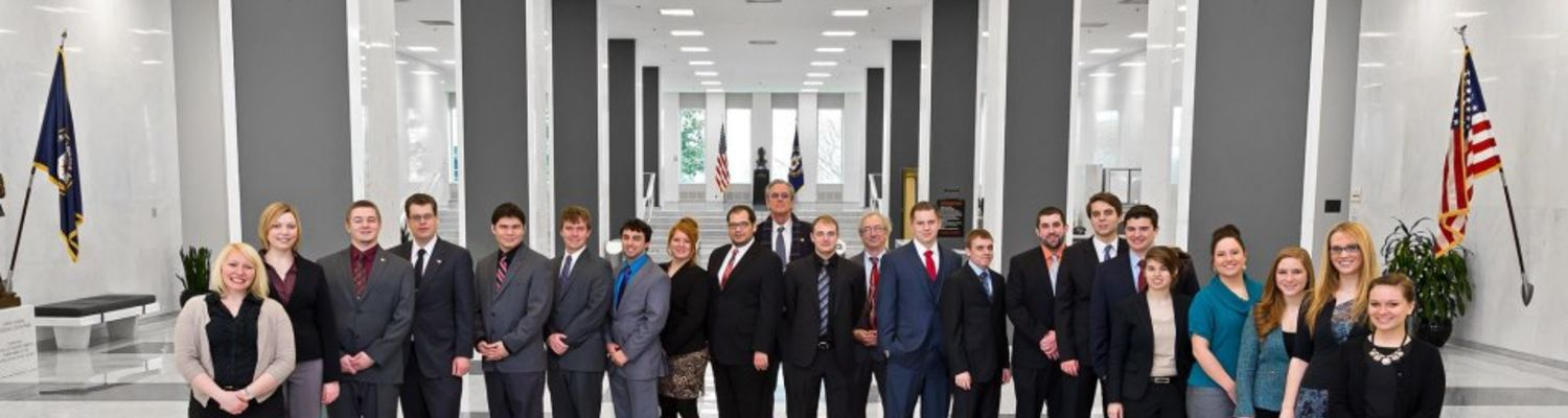WPNI Students Pose together in a Federal Agency