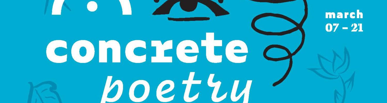 Concrete Poetry Postcard