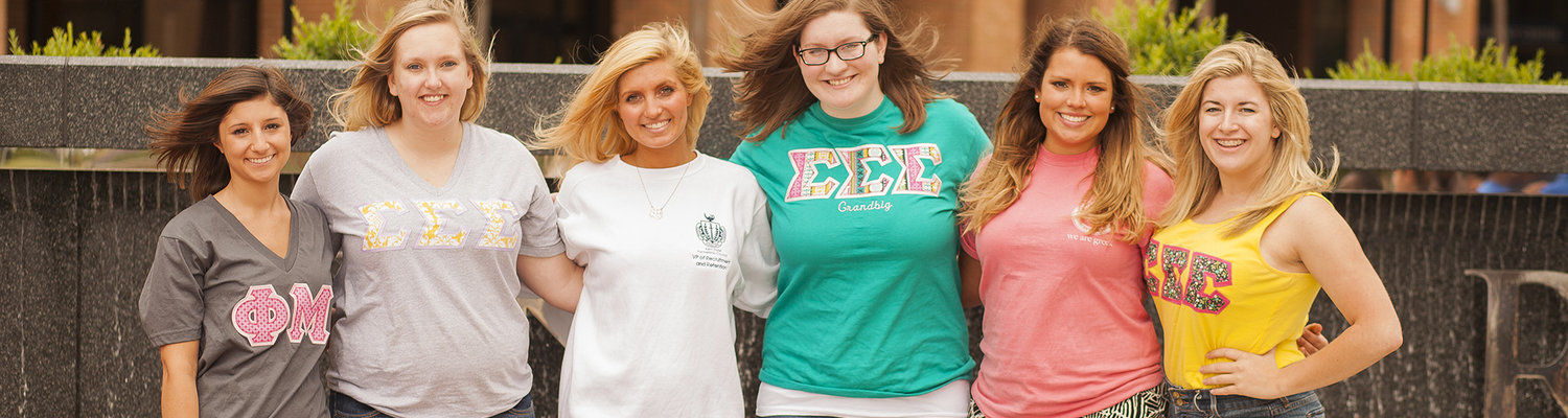 Photo of members of the Panhellenic Council