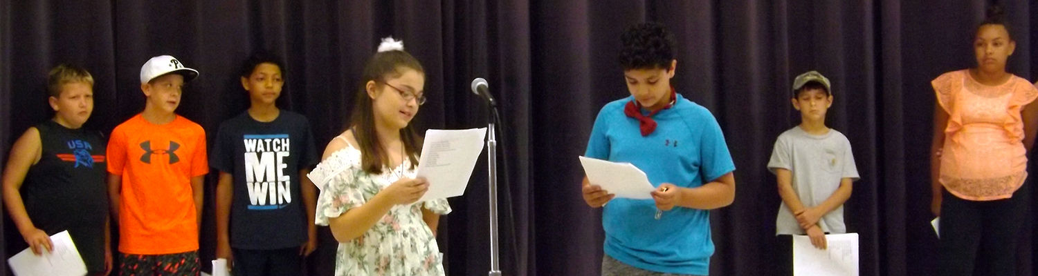 Readers' Theater, Camp Read-A-Lot 2018