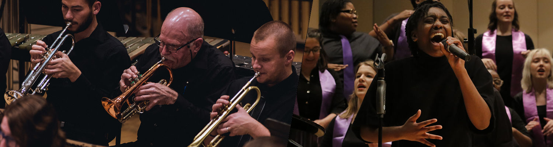 University Band and Gospel Choir
