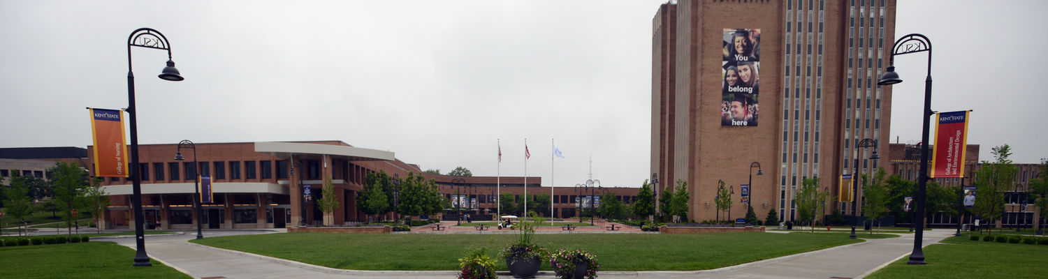 The School of Library & Information Science is housed in the Kent State University Library in Kent, Ohio.