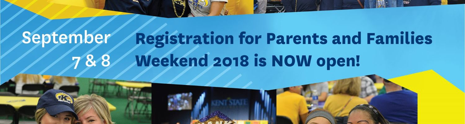 Parents and Family Weekend 2018 registration is open