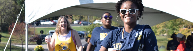 Student has fun at Diversifest