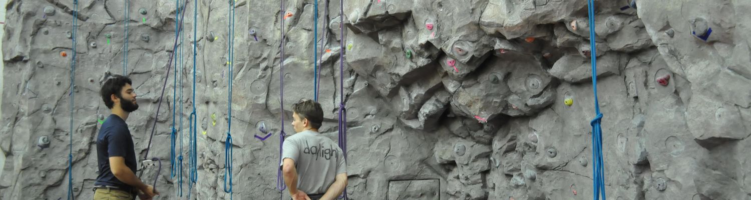 Climbing Wall main header