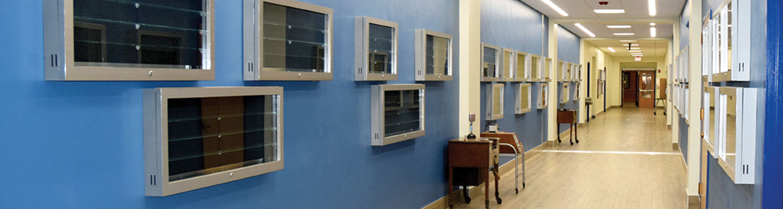 Speech & Hearing Clinic Hallway