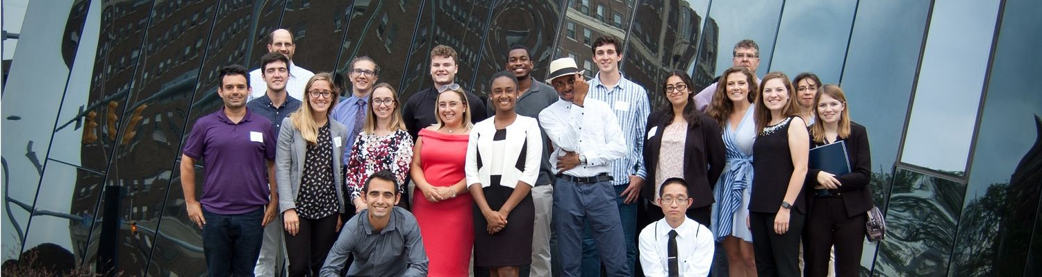 REU participants after a conference in Cleveland.