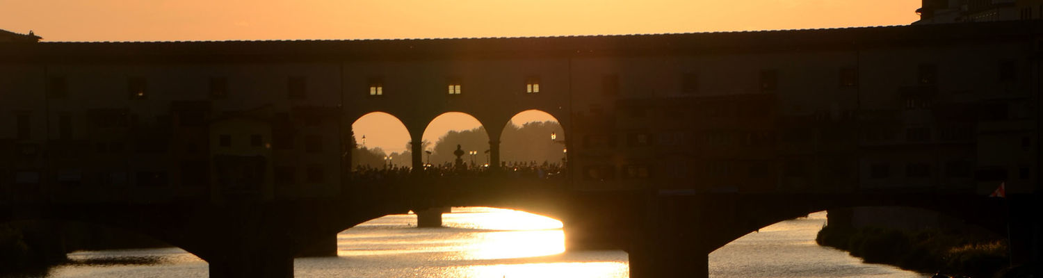 A bridge in Florence