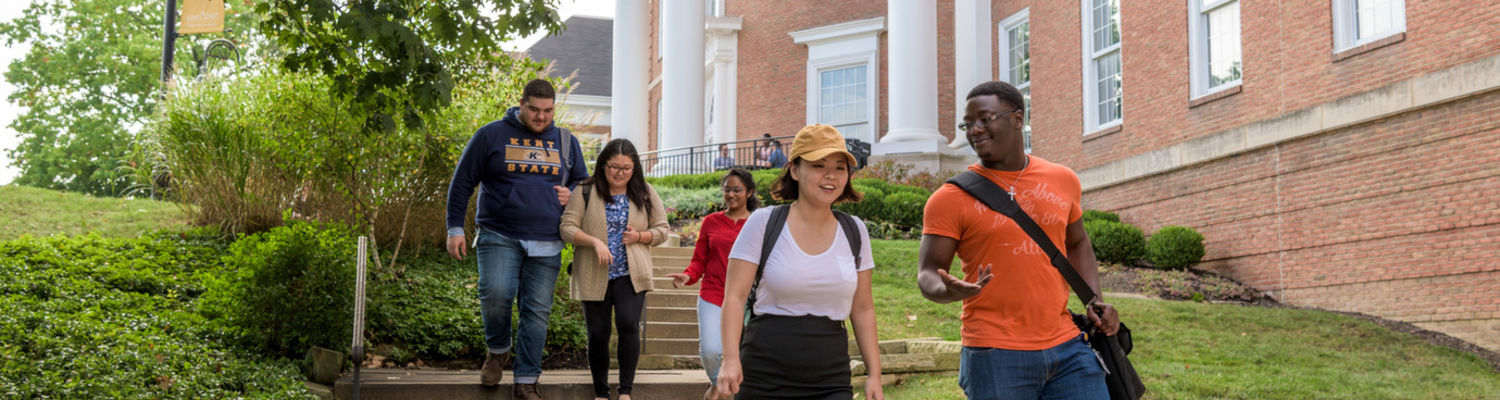 Students going to Class