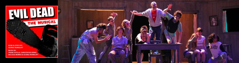Evil Dead: The Musical theatre production