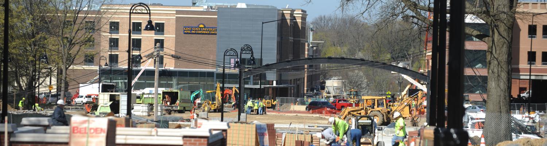 Construction on the Esplanade
