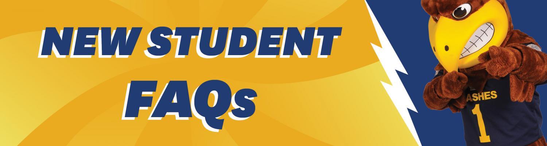 New Student FAQs