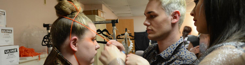 Personal Applique: Fashion Showcase fused avant garde fashion with experimental theatre