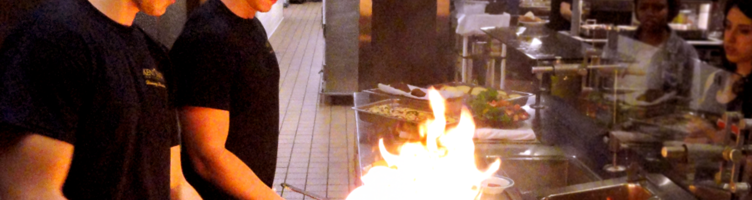 Employees Cooking