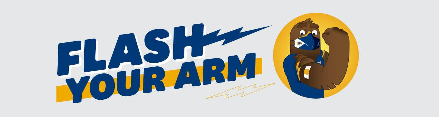 Flash Your Arm